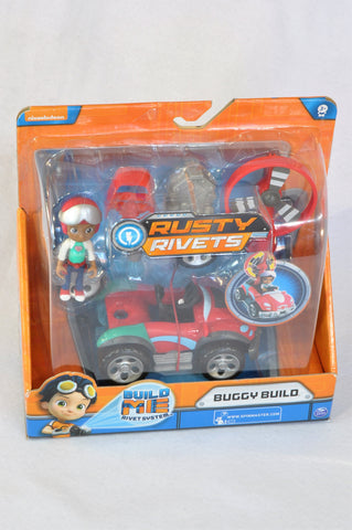 New Nickelodeon Rusty Rivets Buggy Build Toy Unisex 3-10 years