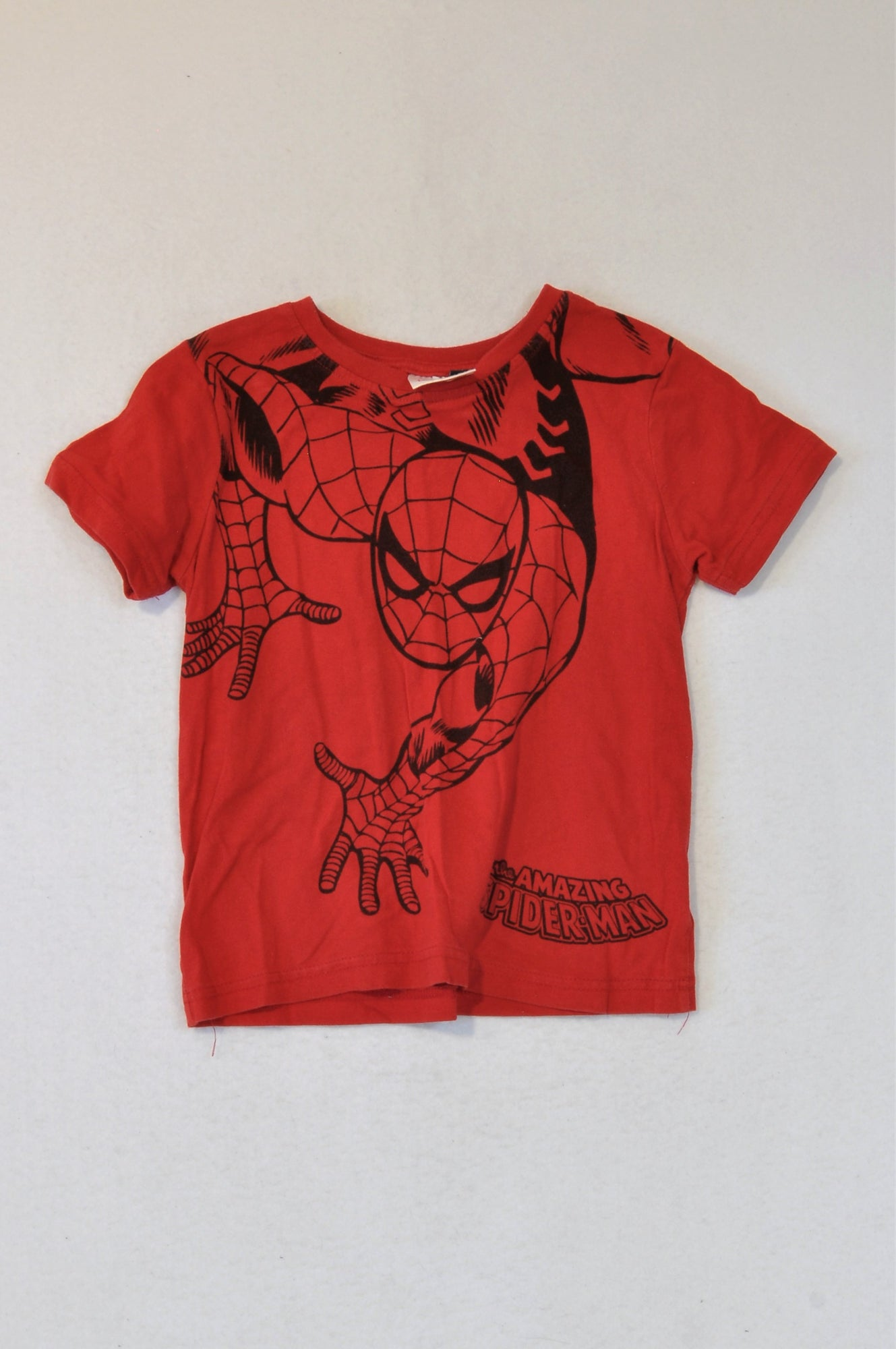 Marvel Red The Amazing Spiderman T-shirt Boys 5-6 years
