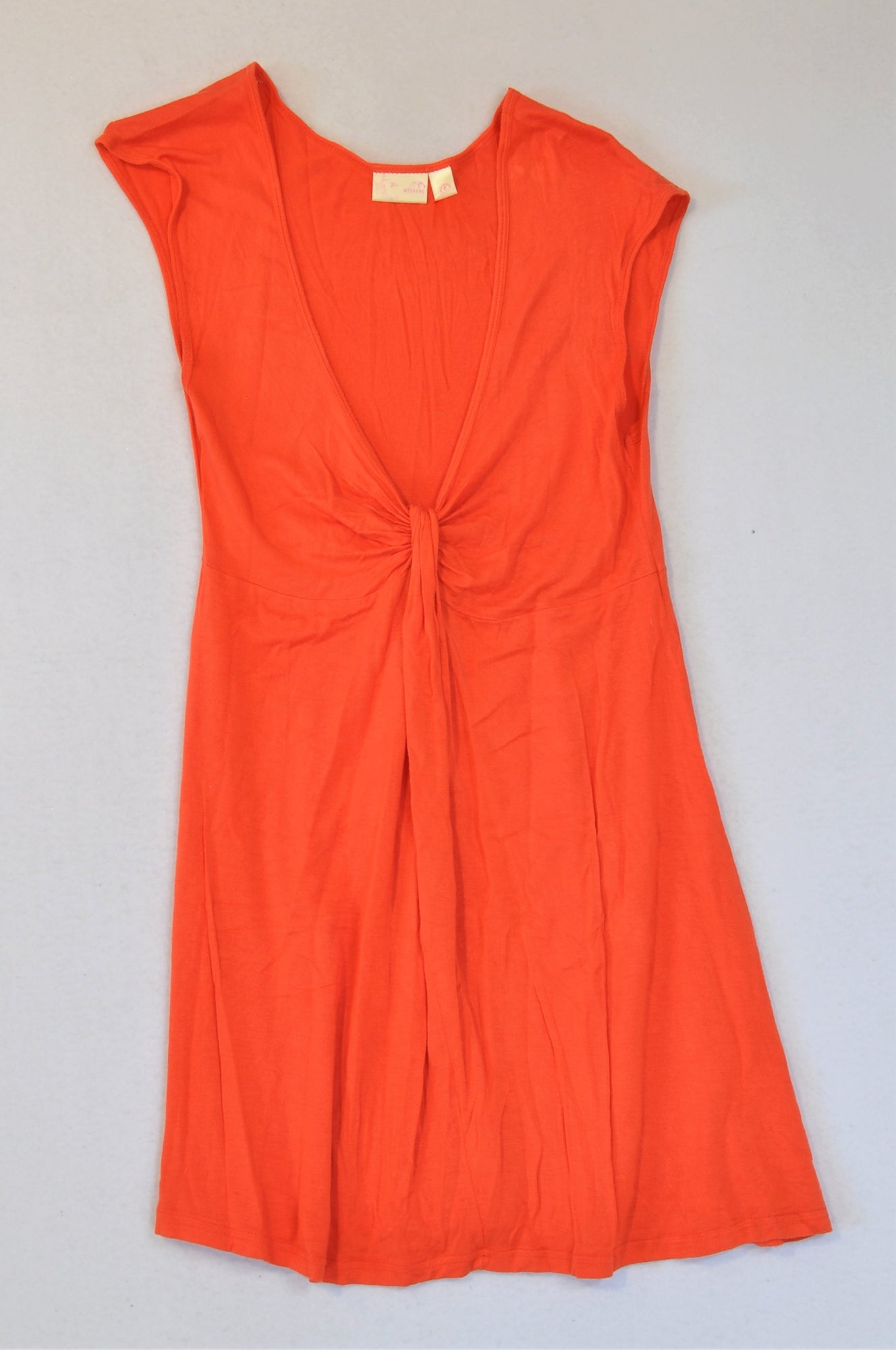 Insync Lightweight Orange Dress Women Size S