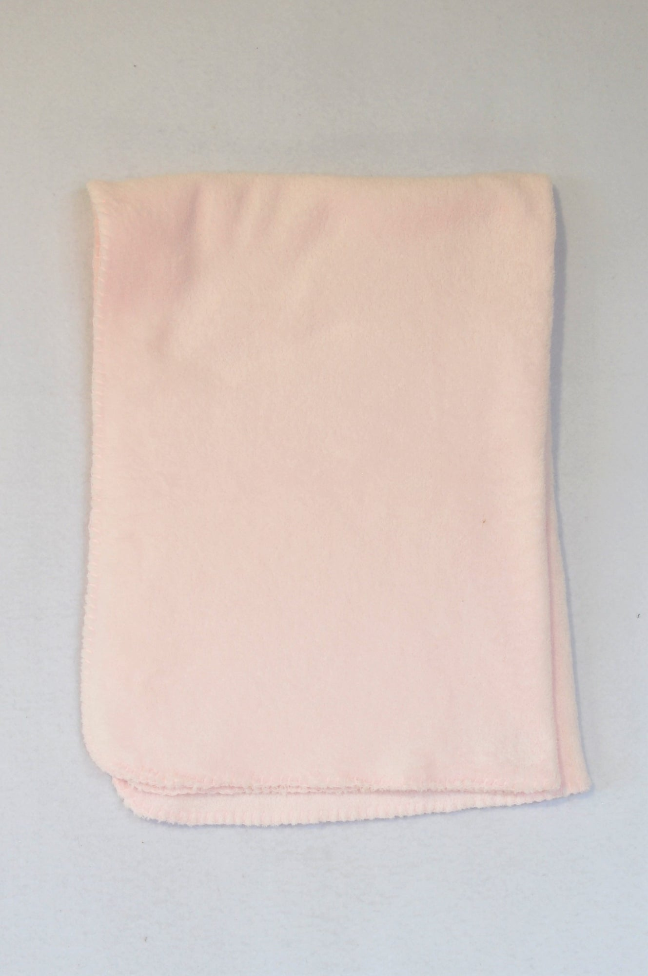 Unbranded Light Pink Fleece Blanket Girls N-B to 2 years