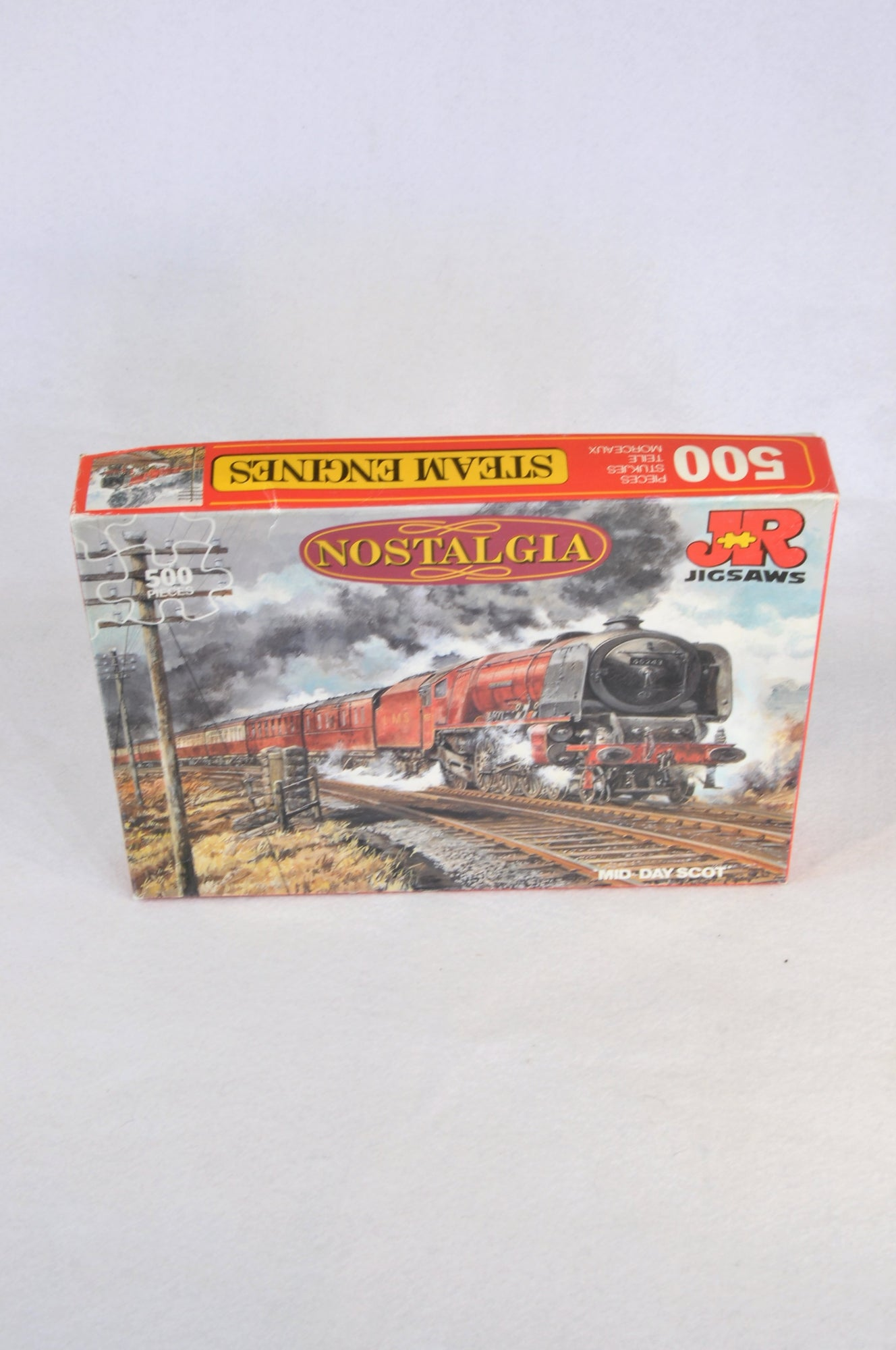 Jigsaw 500 Piece Steam Engine Puzzle Unisex 5+ years