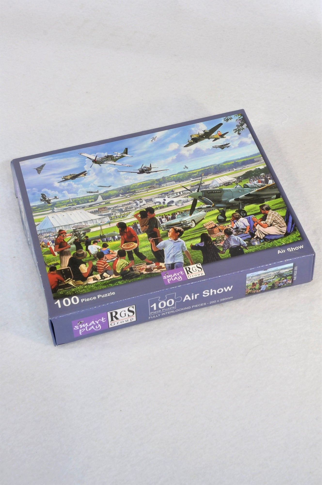 Smart Play 100 Piece Air Show Puzzle Unisex 5-10 years
