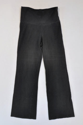 Woolworths Black Flare Lounge Tracksuit Pants Women Size S