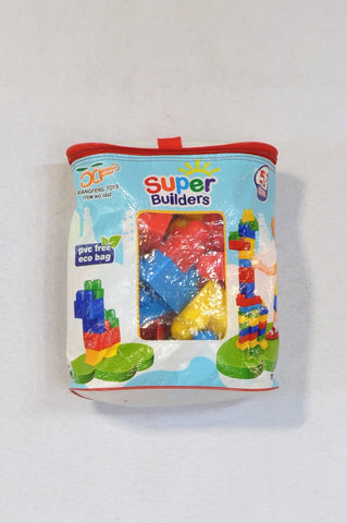 Unbranded Super Builders 52 Piece Blocks Toy Unisex 1-5 years