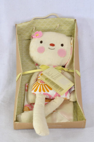 New Lolli Living Birdie Bunny & Soother Gift Girls N-B to 2 years