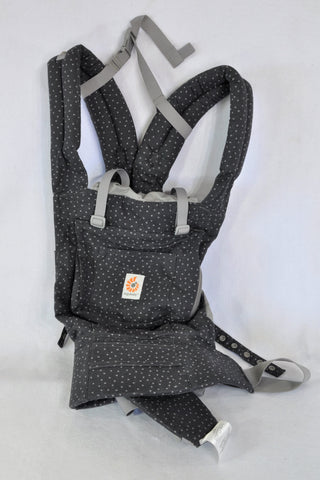 Ergobaby Original Charcoal Starry Sky With Infant Insert Baby Carrier Unisex N-B to 3 years