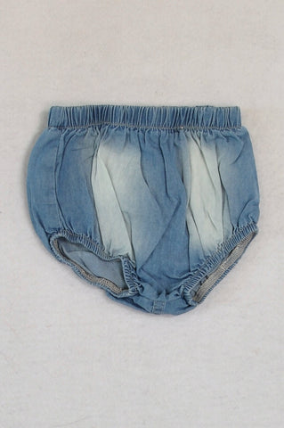 Earthchild Chambray Ombre Bloomers Girls 0-3 months