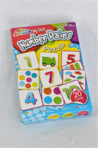 Grafix My First Number Pair 20 Piece Puzzle Unisex 3-5 years