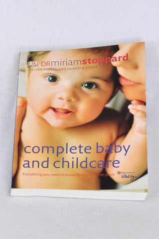 Dr. Miriam Stoppard Paperback Complete Baby & Childcare Parenting Book Women N-B to 2 years