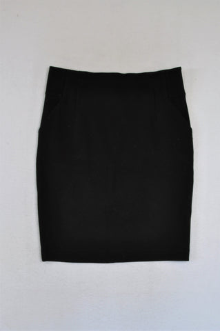 Country Road Black Pencil Skirt Women Size M