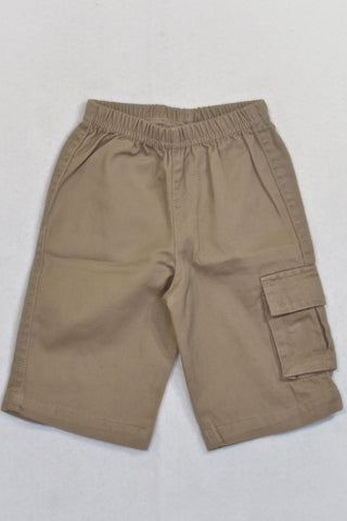 Brown Cargo Pants Boys 0-3 months