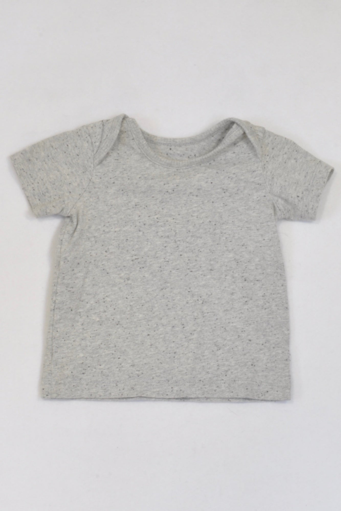 Ackermans Grey Heathered Speckled 1 of 2 T-shirt Boys 6-12 months