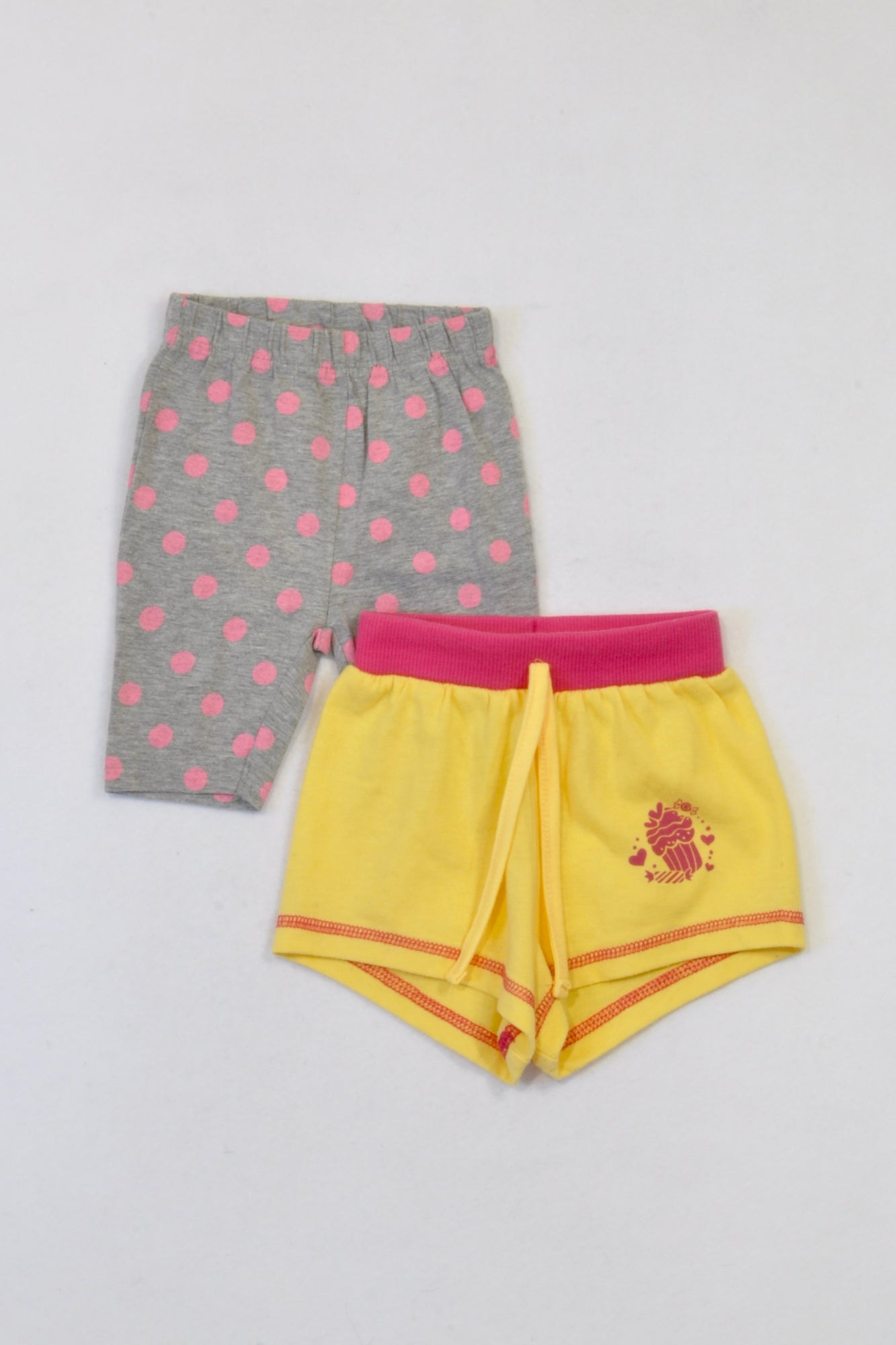 Ackermans Mixed Size Cupcake Bundle Pants Girls 3-6 months