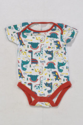 Dino Baby Grow Boys 0-3 months