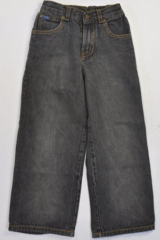 Grey Dark Stonewash Jeans Boys 4-5 years