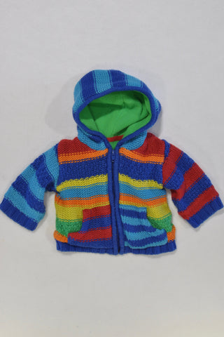 Thick Colourful Knit Jersey Boys 0-3 months