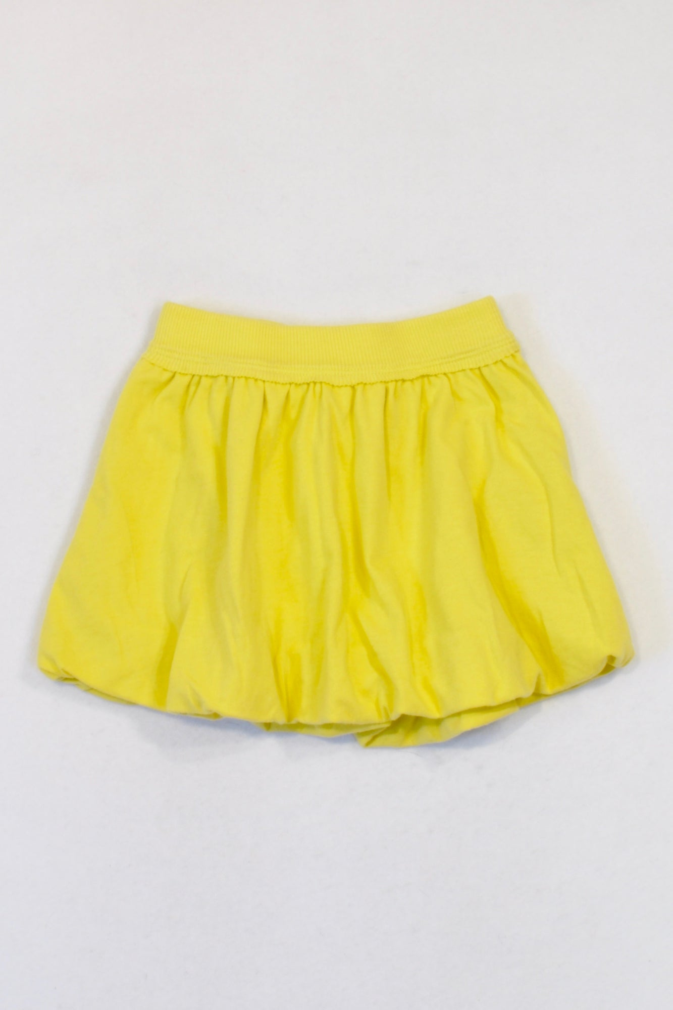 Soco Basic Yellow Bubble Skirt Girls 6-12 months