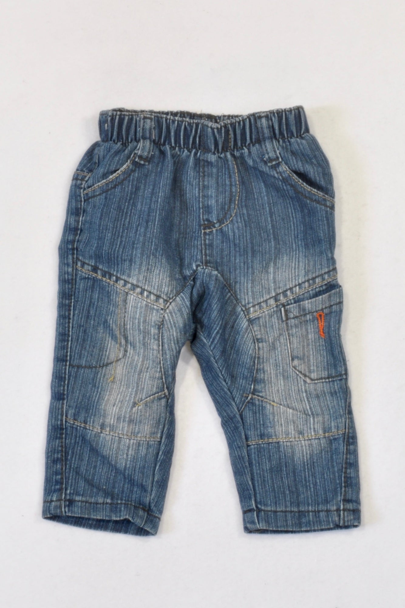 Ackermans Stone Washed Distressed Jeans Boys 6-12 months