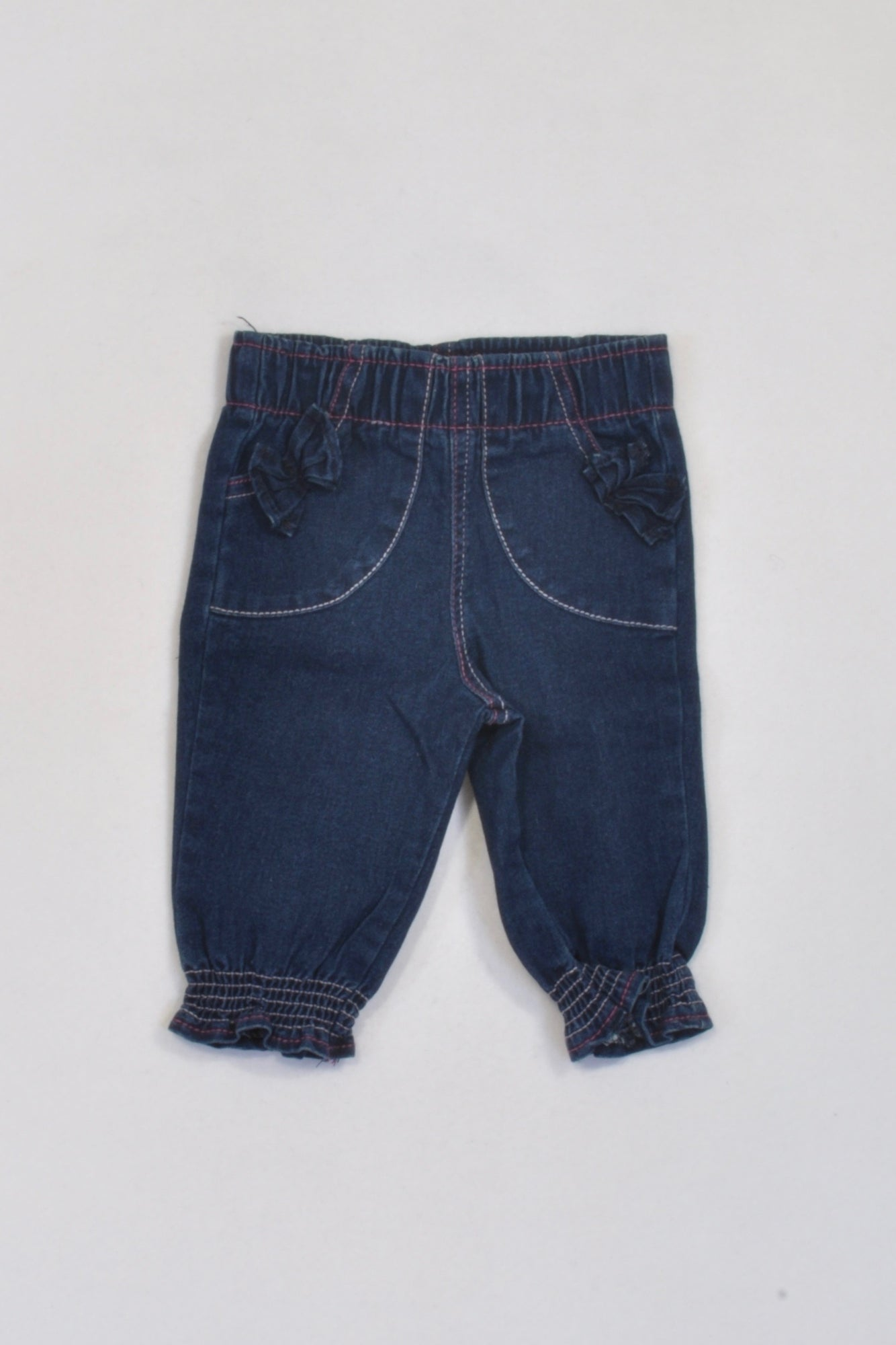Next Jeans 3-6 Months Dark Grey Worn Once Baby & Toddler Clothing