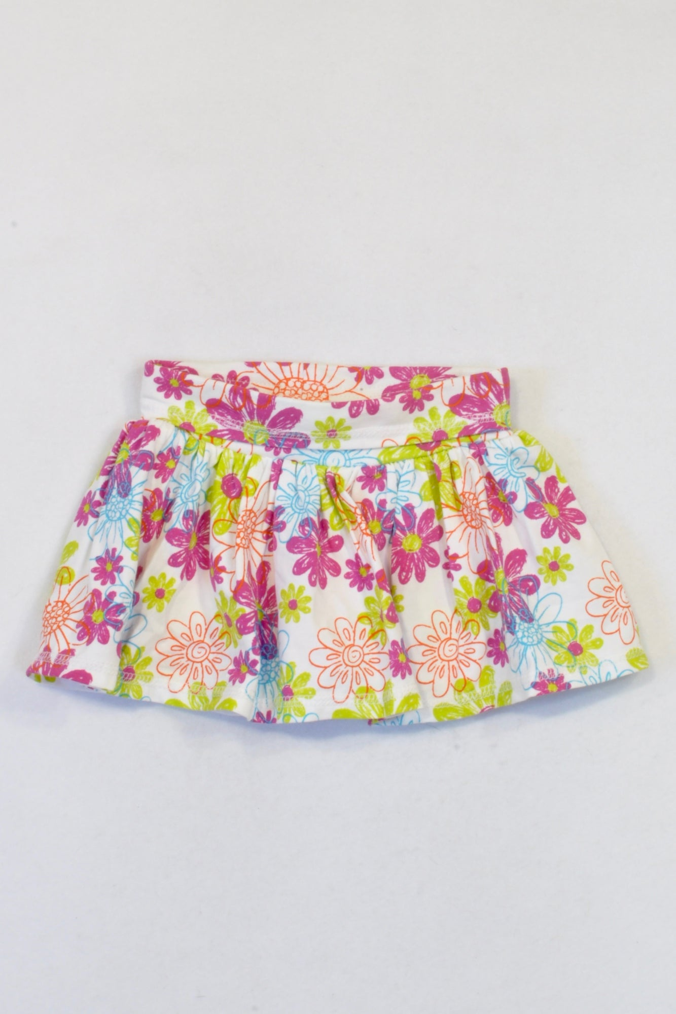 New Koala Kids Multicoloured Floral Skirt Girls 6-9 months
