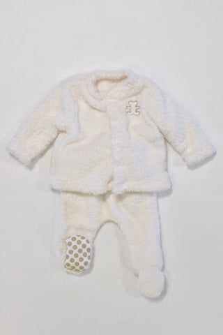 Woolies Fleece Bear Track Suit Unisex N-B