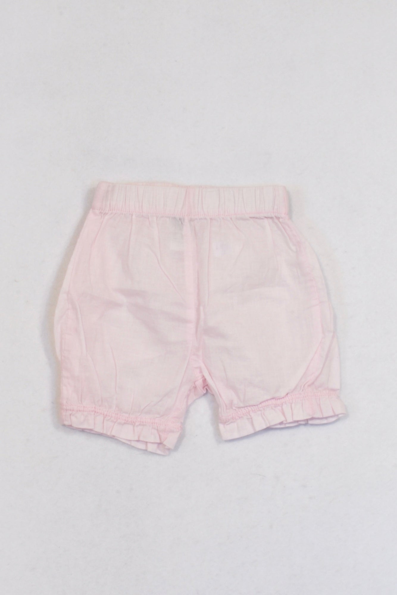 Ackermans Pale Pink Ruffle Bubble Bloomers Girls 0-3 months