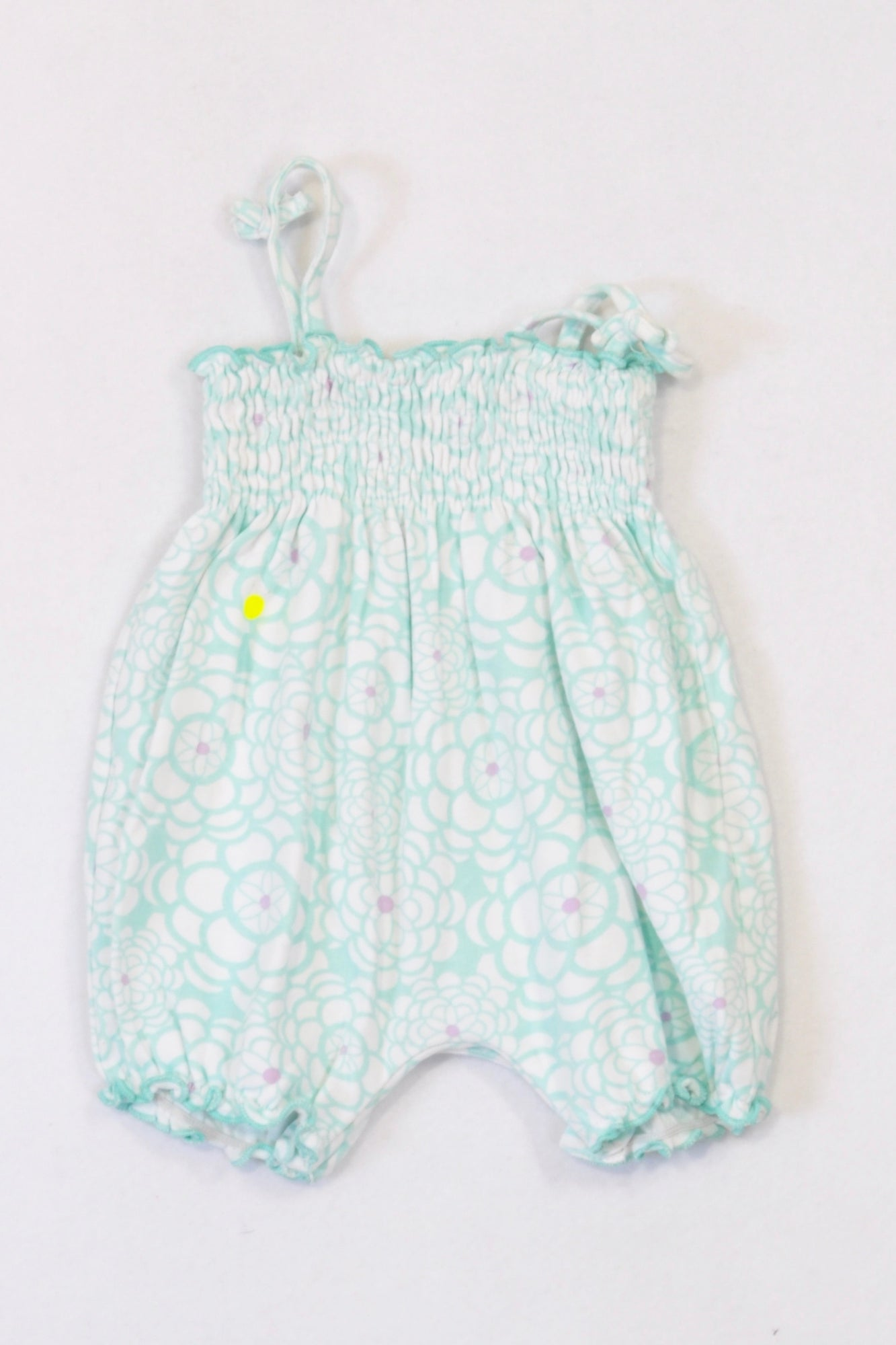 89313c7d61a7 Woolworths Mint Baby Doll Romper Girls 0-3 months – Once More