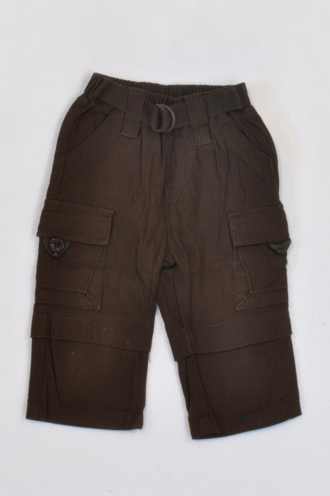 Ackermans Chocolate Brown Cargo Pants Boys 6-12 months
