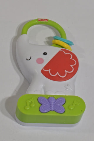 New White Elephant Music & Night Light Toy Unisex N-B
