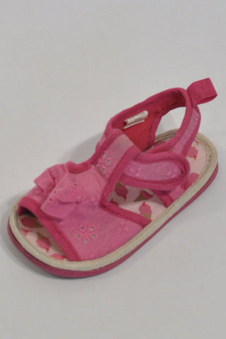 Pink Ice Cream Sandals Girls 9-12 months