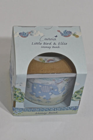 New Little Bird & Ellie Porcelain Money Bank Memorabilia Unisex N-B
