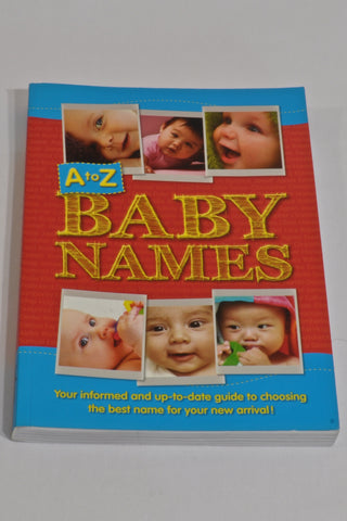 New Baby Names A-Z Book Unisex N-B