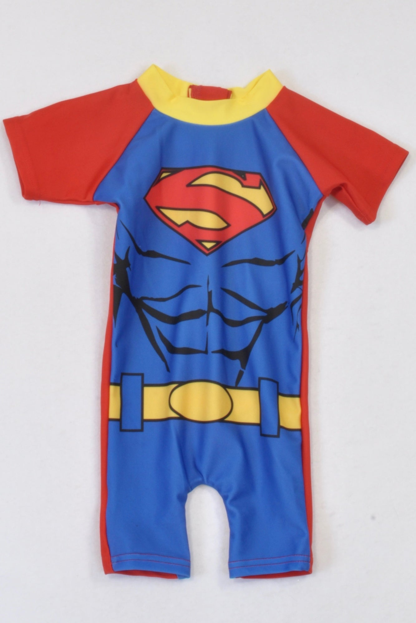 Woolworths Superman Swimsuit Boys 0-3 months