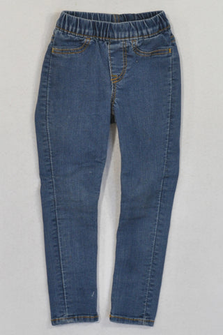 H&M Denim Skinny Stretch Jeggings Girls 18-24 months