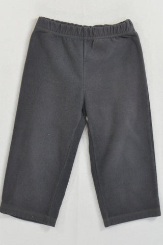 Carter's Charcoal Fleece Track Pants Unisex 18-24 months