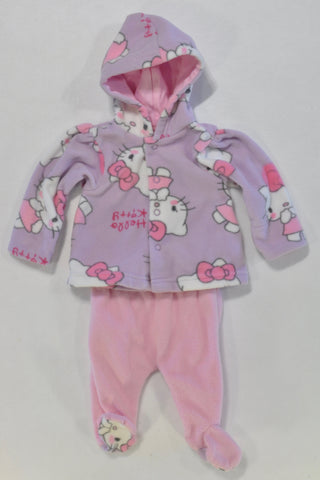 Hello Kitty Fleece Tracksuit Girls N-B