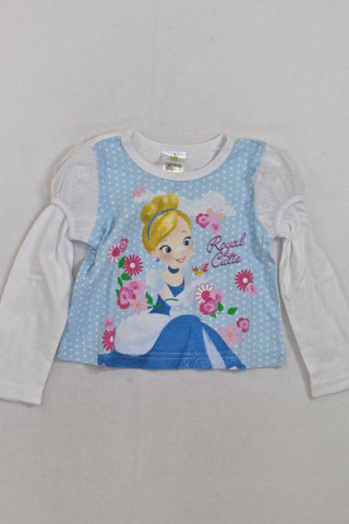 Cinderella Royal Cutie  Top Girls 12-18 months