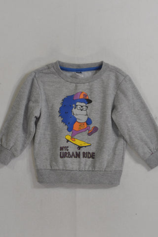 Grey NYC Urban Ride Jersey Boys 6-12 months