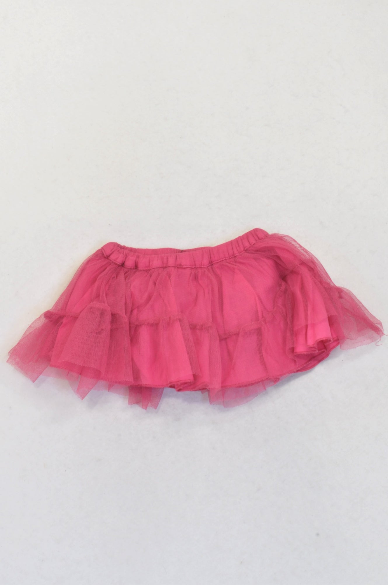 Naartjie Cerise Tulle Layered Skirt Girls 3-6 months