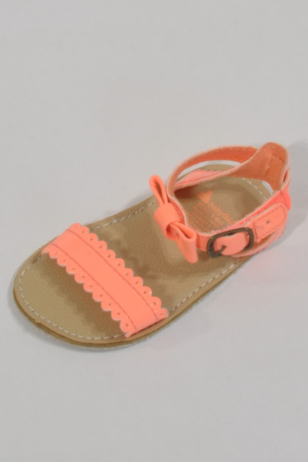 Gap Bright Orange  Sandals Girls 3-6 months