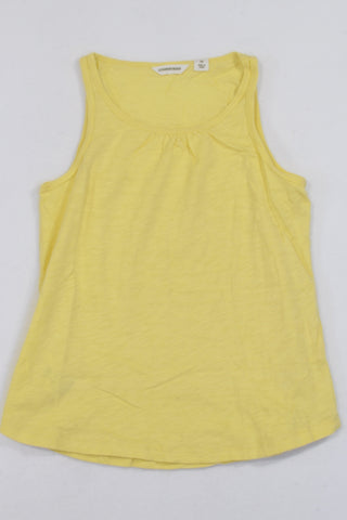 Country Road Yellow Tank Top Girls 6-7 years