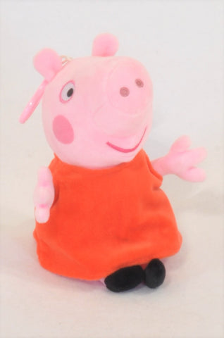 Peppa Pig Hanging Plush Toy Unisex All Ages