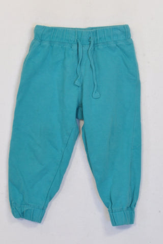 Earth Child Ink Blue Track Pants Boys 18-24 months