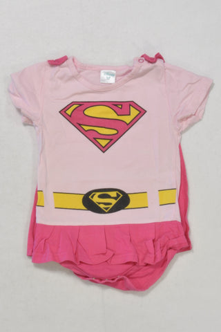 Disney Supergirl Baby Grow Girls 12-18 months