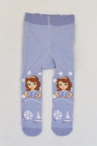Disney  Purple Sofia The First  Stockings Girls 3-6 months