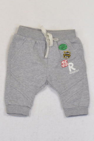 Edgars Grey Harem All Star Team Track Pants Boys 0-3 months