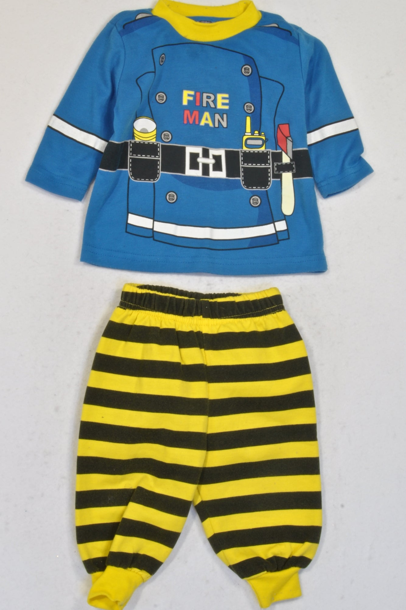 Ackermans Fire Man Top & Pants Pyjamas Boys 3-6 months