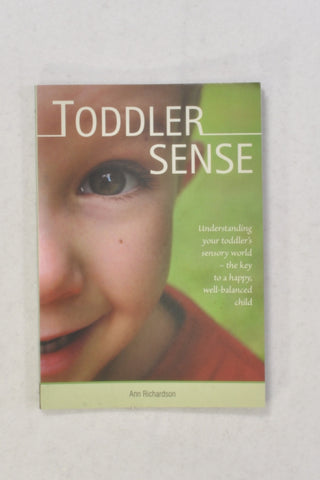 New Toddler Sense Book Unisex 1-2 years