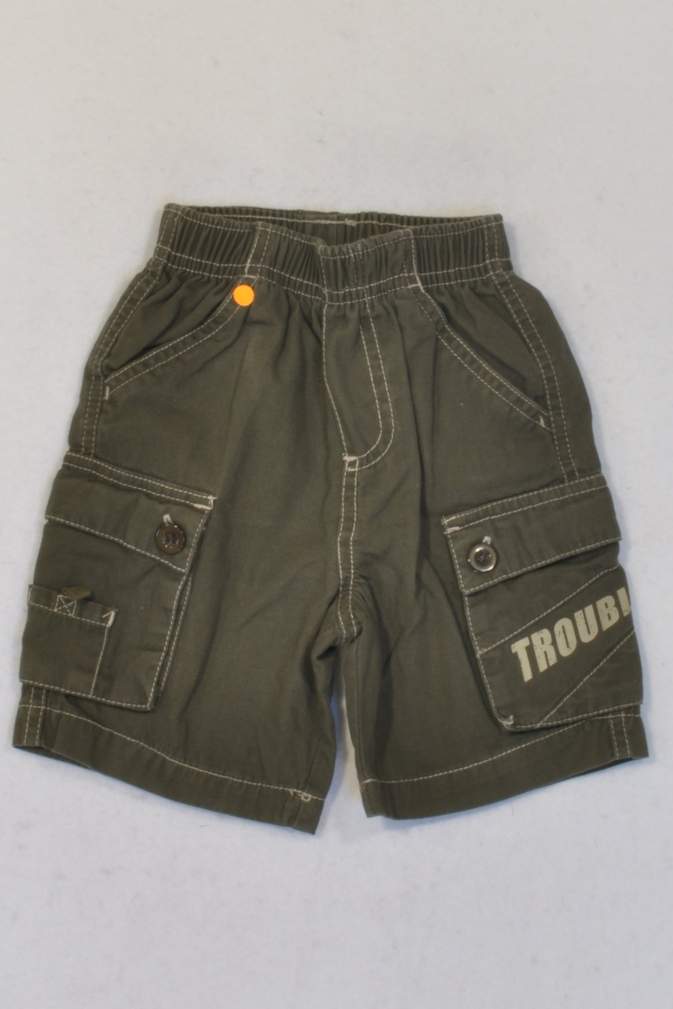 Production St Olive Trouble Cargo Shorts Boys 3-6 months
