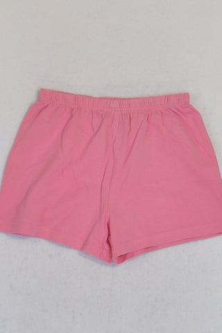 Woolworths Pink PJ Shorts Girls 2-3 years